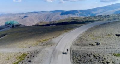 klim naar de Pico Veleta